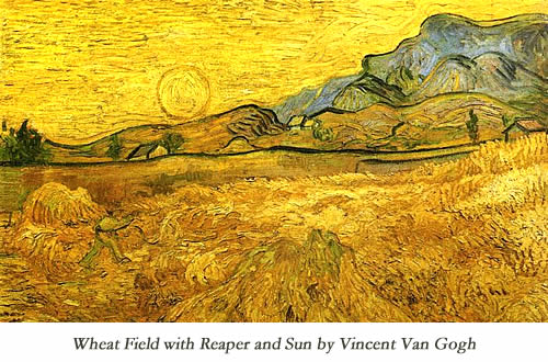 wheat-field-with-reaper-and-sun-by-Vincent-Van-Gogh